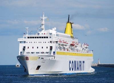 """إلغاء الرحلة البحرية المنطلقة من طنجة المتوسط نحو ميناء """"سيت"""" الفرنسي بعد حجز باخرة """"بلادي"""""""
