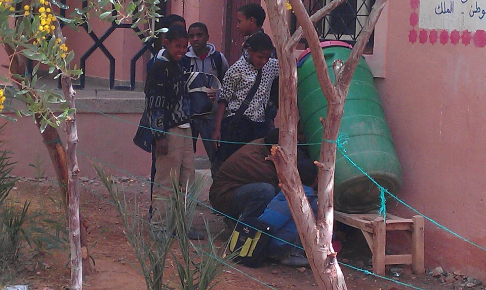 تلاميذ وأساتذة ثانوية أمزرو الإعدادية يهددون بالتصعيد