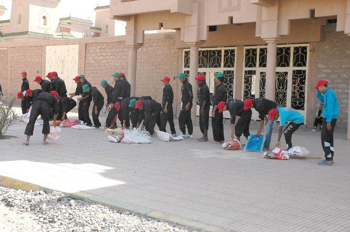 """حملة نظافة يوم 13 ماي بزاكورة تحت شعار  """"البيئة لنا ولأجيالنا القادمة"""""""