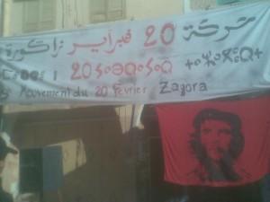 mouvement 20 fevrier Zagora