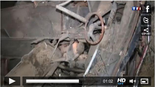 فيديو من الحادث من TF1