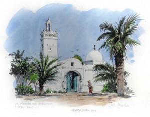 بناء-مسجد-بحي-التضامن-زاكورة