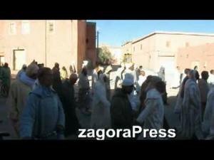 صلاة الإستسقاء بمدينة زاكورة