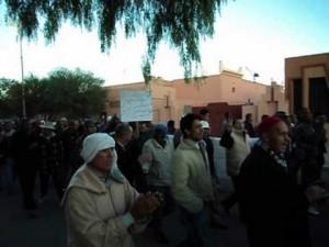 فيديو مسيرة يوم 27 دجنبر بوارزازات تطالب برحيل عامل الاقليم و خليفته الأول باشا المدينة