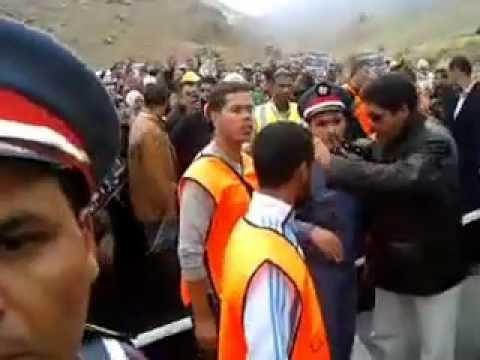 قافلة من أجل المطالبة بنفق تيشكا وتخليد الذكرى الأربعينية لضحايا حادثة الحوز