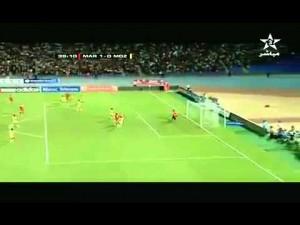 أهداف المنتخب الوطني ضد موزمبيق