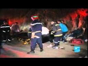 """حادثة حافلة """"أهلا وسهلا"""" من France24"""