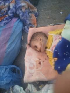 وفاة طفلة داخل حوش نتيجة الإهمال و المرض و الجوع بزاكورة