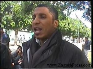 تصريح صحفي حول منع المسيرة الختامية في اتجاه قبر الشهيد في سلا