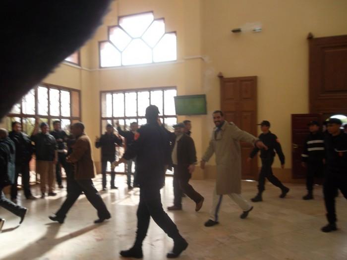 بيان مكتب الاتحاد المحلي كدش بورزازات 15 يناير 2013