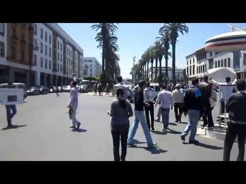 القوات العمومية تمنع مهرجان موازين الموازي للمعطلين واصابات خطيرة