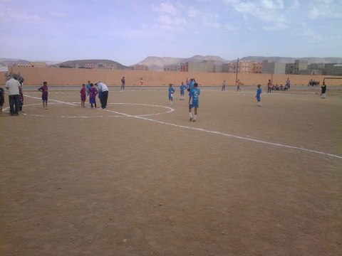 دوري كرة قدم وعدة أنشطة ثقافية لجمعية رواد للطفولة بأكدز