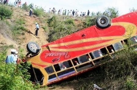ثلاثة قتلى و45 جريحا في انقلاب حافلة للركاب شمال أكادير