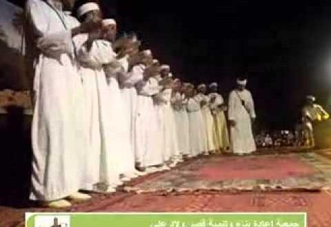 الركبة في مهرجان الثقافة الشعبية بقصر أولاد علي