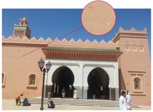 مسجد مدينة زاكورة الرئيسي بشارع محمد الخامس