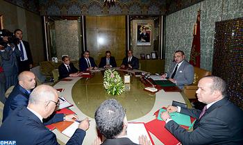 جلالة الملك يترأس جلسة عمل خصصت لتدارس مختلف الجوانب المرتبطة بإشكالية الهجرة