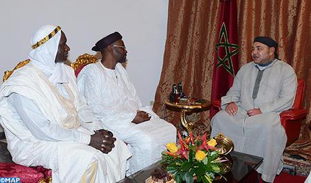 ممثلو الطريقتين التيجانية والقادرية بمالي يشيدون بزيادة الملك محمد السادس