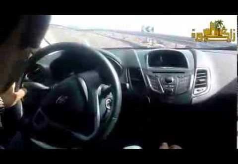 فيديو: سيارة تنجدب للأعلى في جبال أيت ساون رغم توقف المحرك