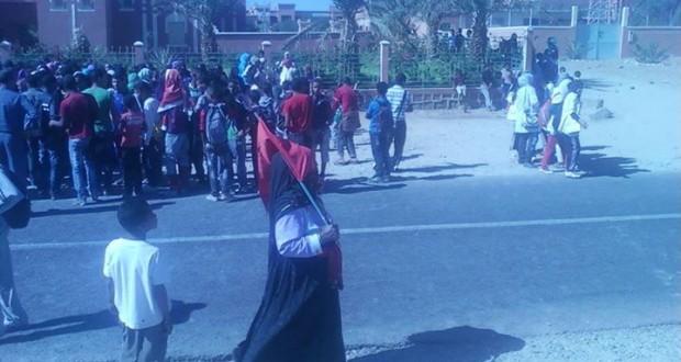 مسيرات شعبية كبيرة بجماعة اولاد يحيى لكراير