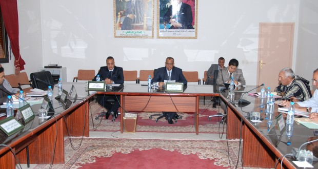 إجتماع لتفعيل إجراءات المبادرة الوطنية للتنمية البشرية