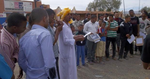 نشطاء في تازارين زاكورة يدقون ناقوس الخطر ويحذرون من أزمة تحل بالمنطقة