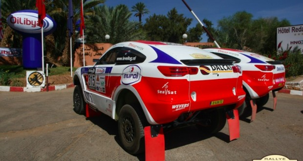 """رالي """"أويل ليبيا المغرب 2013″: الأرجنتيني تيرانوفا يفوز بالمرحلة الأولى"""