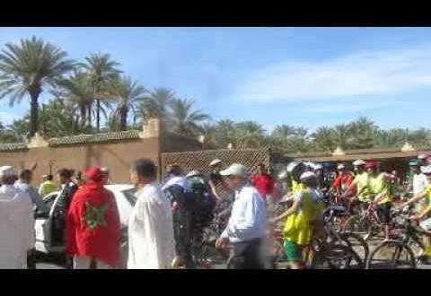 االملتقى الدولي الثاني للواحات والتنمية المحلية: جولة بالدارجات يوم 1 دجنبر تحت إشراف الجامعة المغربية