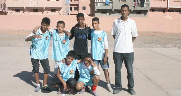 نهاية دوري كرة القدم المصغرة فتيان بزاكورة وتتويج اجيال درعة بالبطولة