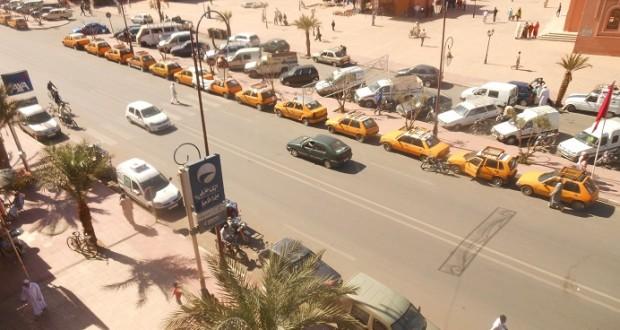 manifestation-petit-taxi-zagora-5