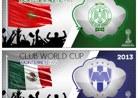 الرجاء الرياضي – المغرب مونتيري – المكسيك