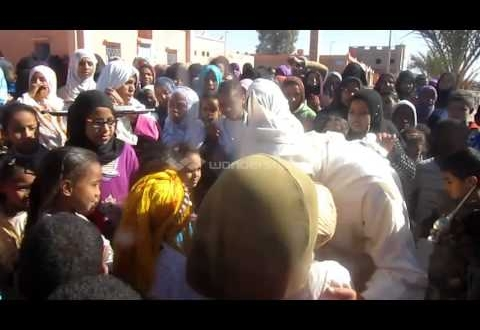 """إستقبال """"محمد العسري"""" ببني زولي"""