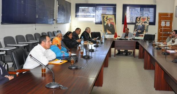 اجتماع الاكاديمية مع المكتب الجهوي للنقابة الوطنية للمساعدين التقنيين