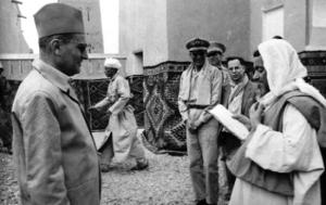 زيارة محمد الخامس لمحاميد الغزلان