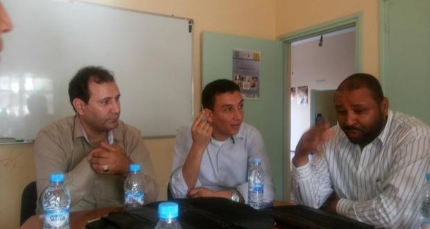 الإعلامي راضي الليلي في لقاءه الجهة الثامن عشر بزاكورة