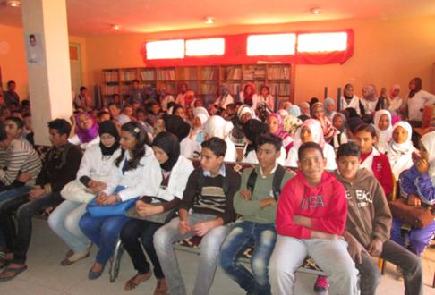 تنظيم الأسبوع الثقافي بثانوية سيدي صالح التأهيلية بتاكونيت