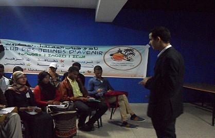 نادي شباب المستقبل- تمكروت بأكادير ينظيم دورة تدريبية في القراءة