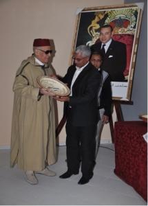 رئيس النادي يكرم الحاج عبد الله الرفاعي مؤسس النادي الدرعي الزاكوري