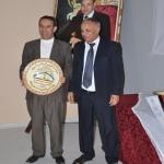 تكريم الحاج احمد السدي مسير سابق بالاتحاد الرياضي
