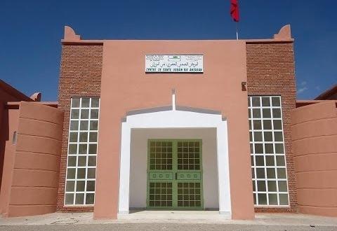 المركز الصحي بئر أنزران بتنغير من البناء إلى الإغلاق