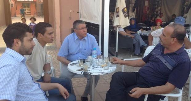 يومين علميين حول : واحات الجنوب المغربي في مواجهة التغيرات المناخية 6 و 7 يونيو 2014  بدار الثقافة زاكورة