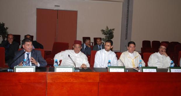 لقاء تواصلي لتقديم مضامين إستراتيجية الوكالة الوطنية لتنمية مناطق الواحات و شجر الأركان بزاكورة