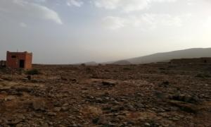صورة للأماكن التي مرت منها السيول بالمنطقة  19/05/2014