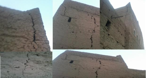 منزل يهدد سكان دوار زاوية سيدي صالح بتاكونيت