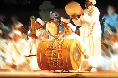 المهرجان الوطني لفنون أحواش برسم سنة 2014 بورزازات