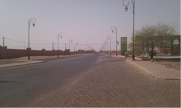 grand avenue -tagounite-zagora