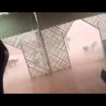 فيديو للعاصفة الرعدية بامحاميد الغزلان