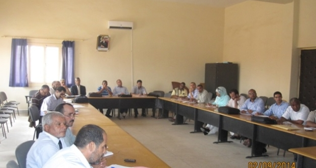 delegation-zagora-reunion-rentree scolaire