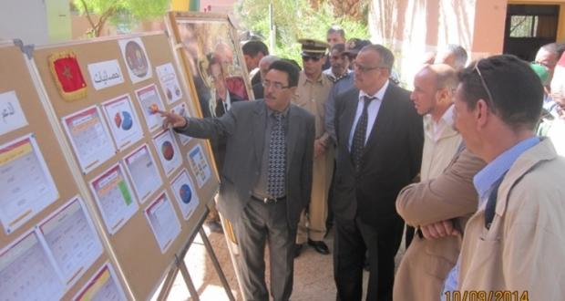 عامل إقليم زاكورة يشرف على الإنطلاقة الرسمية للموسم الدراسي الجديد