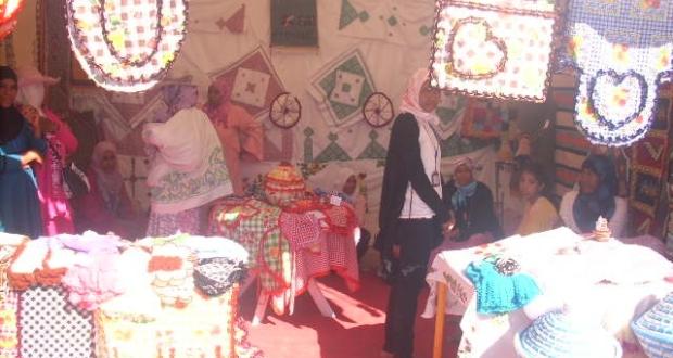 اختتام فعاليات معرض الأزياء التقليدية و النسيج بمركز سكورة