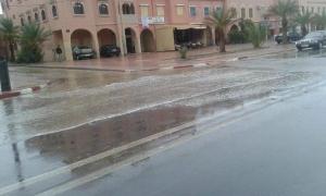 عواصف رعدية وتساقطات مطرية جد هامة بزاكورة